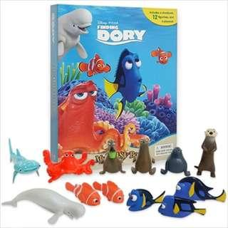 BN: Disney Finding Dory My Busy Book including 12 Figurines and Playmat