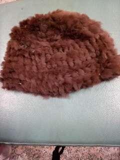 🚚 兔🐰毛造型帽
