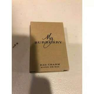 Burberry Limited Gold Bag Charm Original