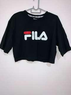 Fila cropped boxy top