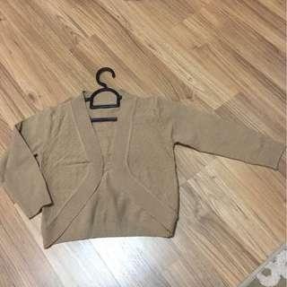 Cardigan krem knit