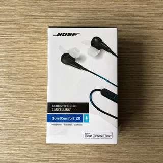 BOSE QC Quiet Comfort 20 i Noise Cancelling headphones Apple