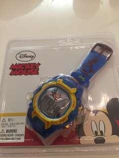 迪士尼米奇電子手錶