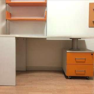 Study Table & Book Shelf