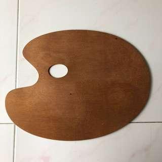 Wooden Art Paint Palette
