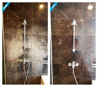 Marble walls and stains restoration services