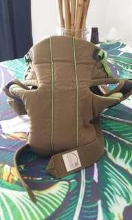 Preloved Olive Green Baby Bjorn Carrrier