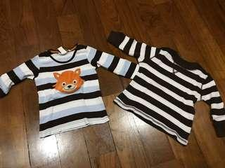 Long sleeves T-shirt 12 to 18 M