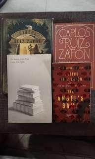 Carlos ruiz zafon collection (prisoner of heaven not included)