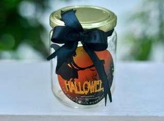 200ml Halloween Candy Glass Container