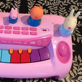 Peppa pig toy piano