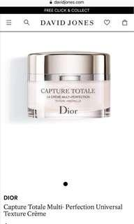 Brand New Capture Totale Multi-perfection creme 15ml