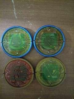 Kamen Rider OOO spare medals