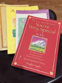 5 for 150 Blue Mountain Arts Inspirational books