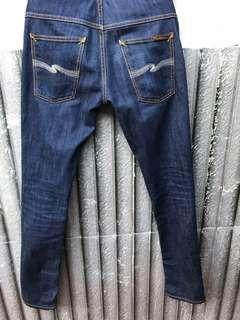 Nudie Jeans Thinn Finn Ecru Embo ORI