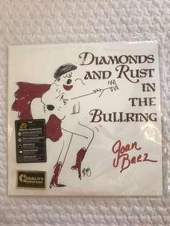 BN Sealed Joan Baez Diamonds and Rust in the Bullring Vinyl Record