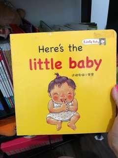 中英文繪本- Here's the little baby