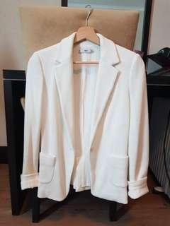 M&G White Blazer