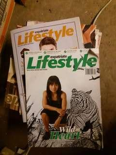 Expatriate Lifestyle Magazine stack