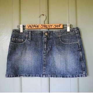 Lee Riders Vintage Denim Skirt - Size 12