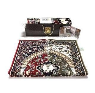 Makkah Prayer Rugs by alrawda