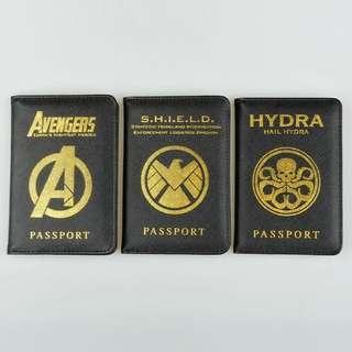 Passport Cover Avengers, S. H. I. E. L. D, Hydra