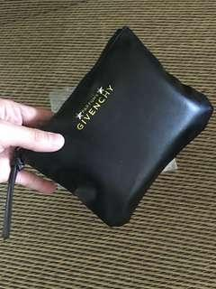 Ready stock: Givenchy Parfums PU leather clutch