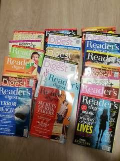 Reader's Digest and other reading materials