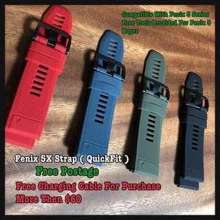 🚚 [Promo] 2 For $36 Fenix 5X Strap