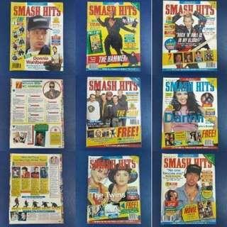 Smash Hits Magazines 1991 x 21 books