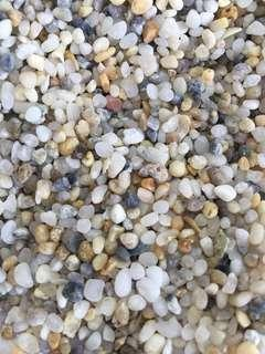 Assorted small pebbles