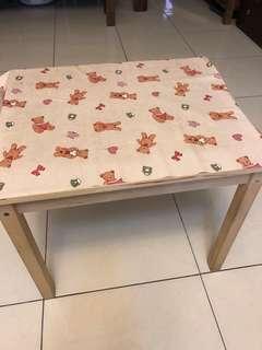 矮木桌+2椅
