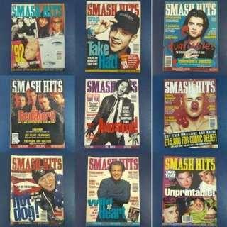 Smash Hits Magazines 1993 x 26 books