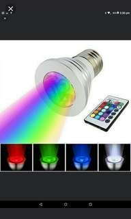 🚚 🆕🆒 E27 RGB LED bulb with 16 colors changing