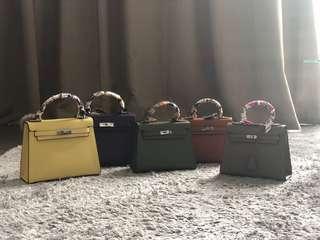 Plain Grace Handbags/Slingbags. (Small Size RM300) (Big Size RM370)
