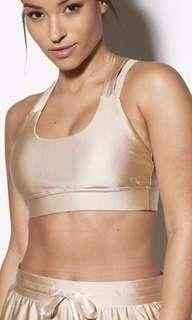 Toned by Ashy Bines Luxe Active Crop Bra. BNWT. XS