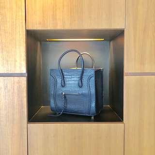 Multi Purpose Big Handbag in Dark Blue