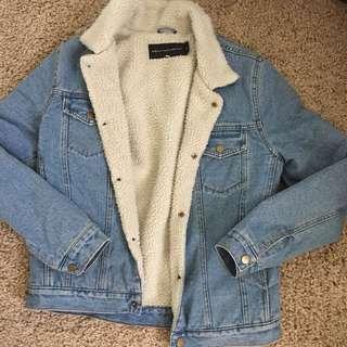 Sheeling denim jacket