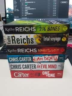 CHRIS CARTER & KATHY REICHS