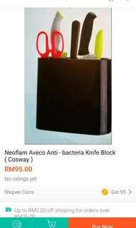 #EST50 Neoflam Aveco antibacterial knife block (knife No include)