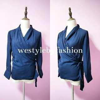 INSTOCK - Wrapped Blouse
