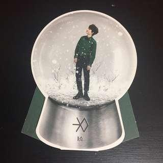 [WTS] EXO MIRACLES IN DECEMBER SNOWGLOBE D.O KYUNGSOO