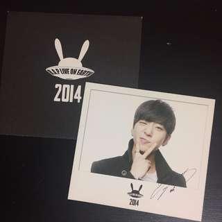 [WTS] BAP YONGGUK LIVE ON EARTH 2014 POLAROID