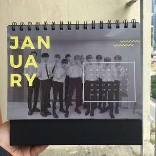 Wanna One 2019 Calendar