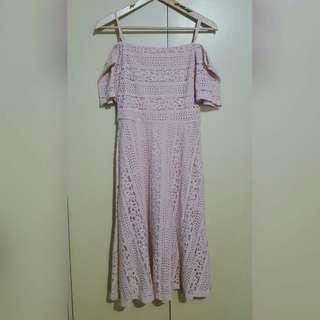 GTW Lace Off-Shoulder Dress