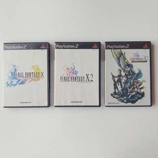 PlayStation PS2 Final Fantasy X , X-2 , International