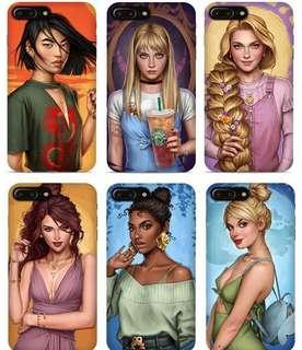 Modern Disney Princesses Phone Cases