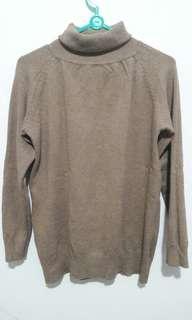Turtleneck knitt