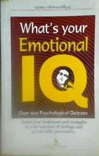 What's Your Emotional IQ (Psychology book)