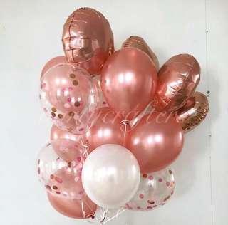 18pcs Helium Balloons